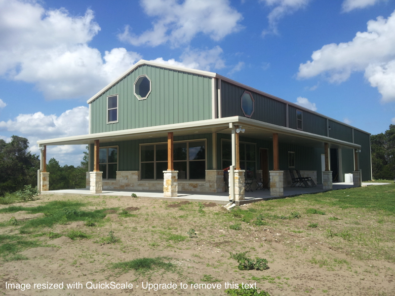 Browse Various Metal Homes We Built In Texas T T