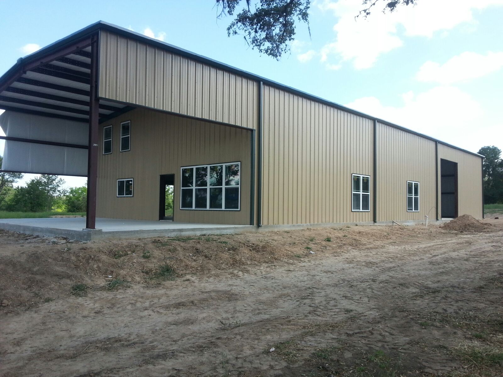 Browse Various Metal Homes We Built in Texas T&T Construction
